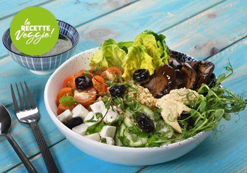 Recette : Bouddha Bowl façon salade grecque - EpiSaveurs