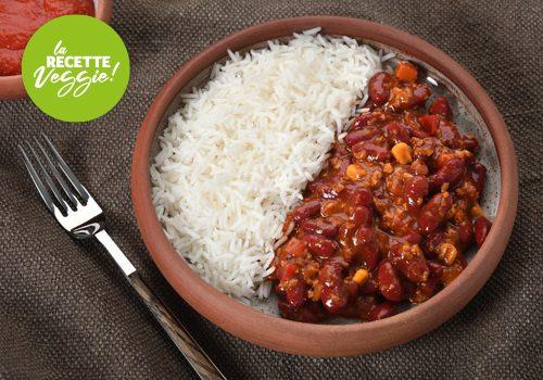 Recette : Chili sin carne - EpiSaveurs