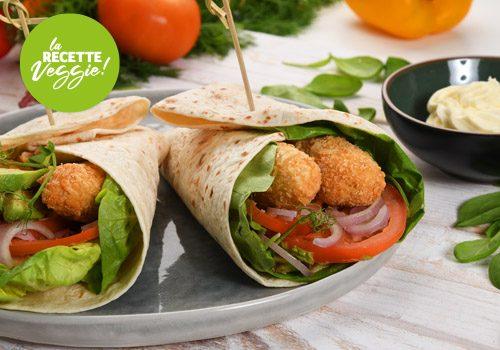 Recette : Wrap veggie - EpiSaveurs