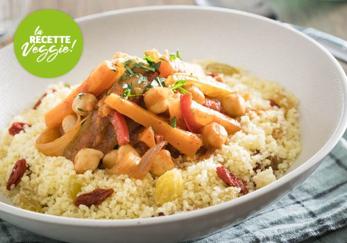 Recette : Couscous veggie - EpiSaveurs