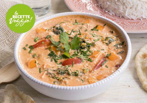 Recette : Curry de légumes veggie - EpiSaveurs