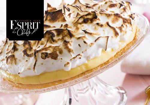 Recette : Tarte au citron yuzu, meringue au poivre de timut - EpiSaveurs