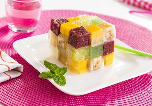Recette : Rubis-cube de fruit gélifié - EpiSaveurs