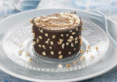 Recette : Bûche chocolat, crème de marron - EpiSaveurs