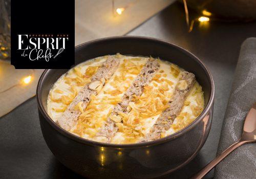 Recette : Crème brulée foie gras - EpiSaveurs