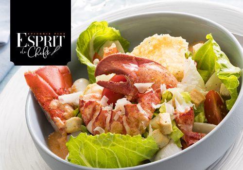 Recette : Salade César au homard - EpiSaveurs