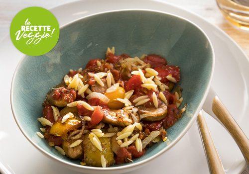 Recette : Sauté végétal à l'Italienne - EpiSaveurs