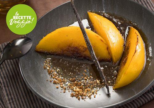 Recette : Mangue rôtie au poivre Séchuan et sucre Muscovado - EpiSaveurs