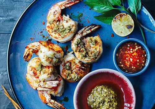Recette : Crevettes au pesto Thaï - EpiSaveurs