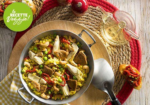 Recette : Paella végétarienne - EpiSaveurs