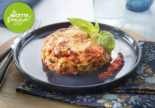 Recette : Lasagne de légumes tomate basilic - EpiSaveurs