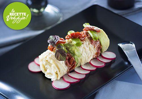 Recette : Avocat,  tomates confites en tartare, céleri remoulade vinaigre de géranium - EpiSaveurs